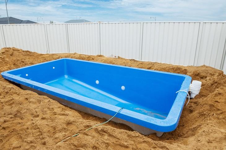 fibreglass pool