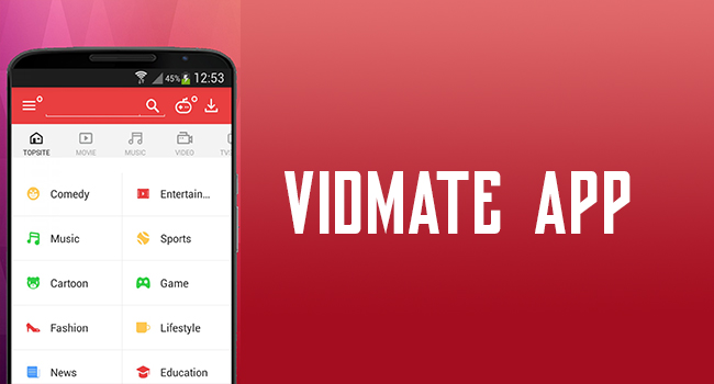 Download Vidmate Video Downloading App From 9apps