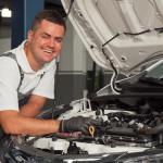 approaching a car mechanic