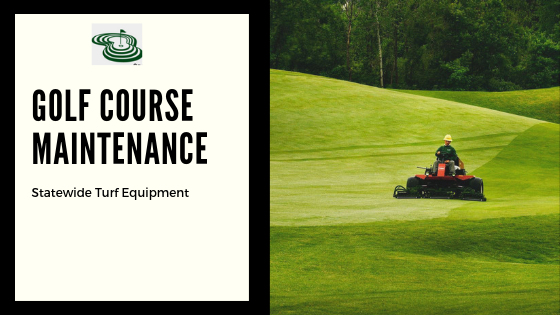 The best solution to golf course maintenance