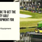 John Deere golf course equipment