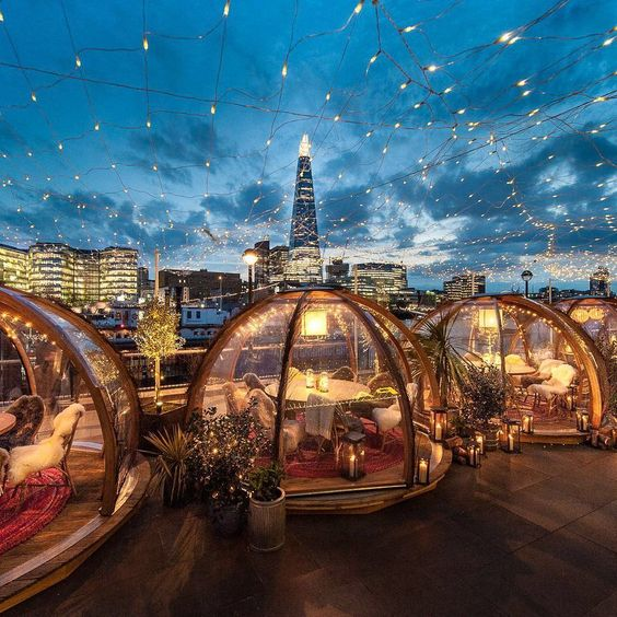 Riverside Igloos in Coppa Club