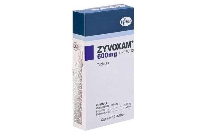 Zyvoxam tabletas 600 mg