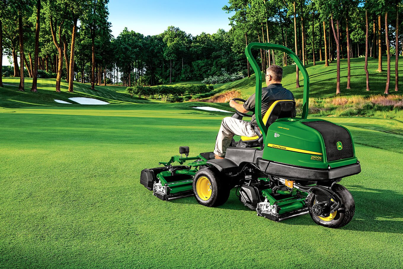 Golf Course Maintenance Equipment –  Lease Or Purchase?