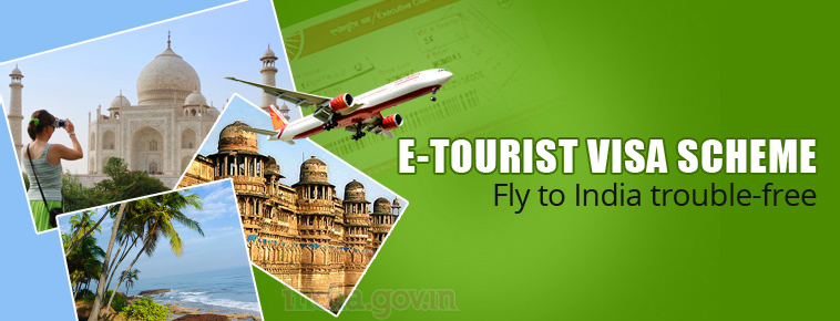 e tourist visa India price