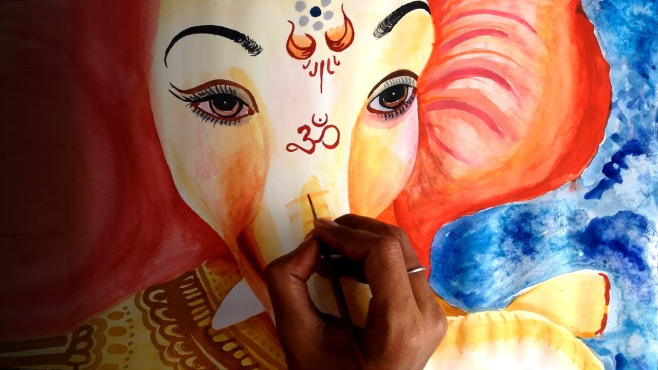 Ganesha Art Paintings