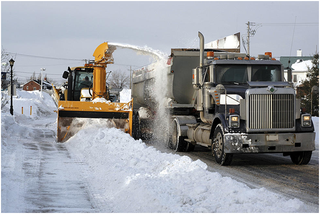 New Jersey Ice Control – Benefits of Hiring Snow Removal Services