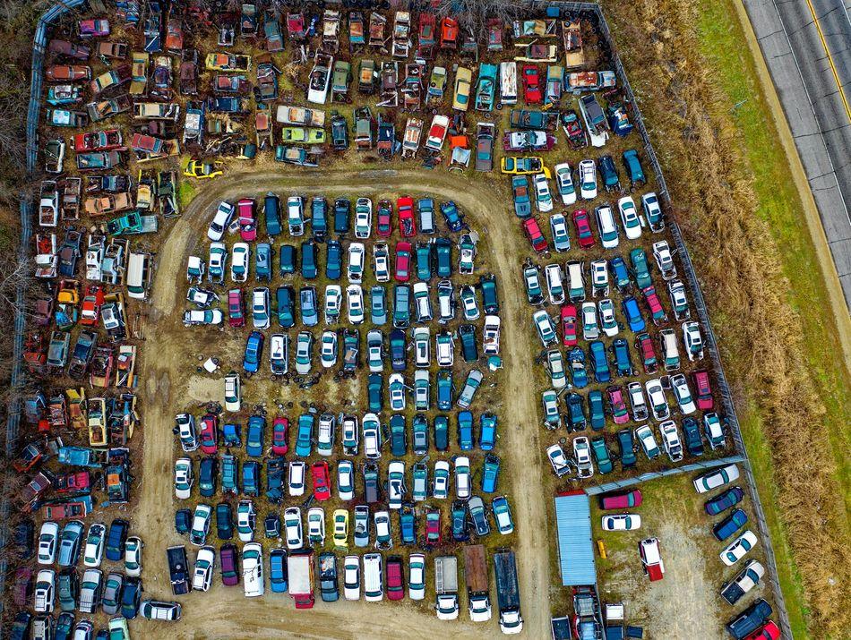 Salvage Car Yard