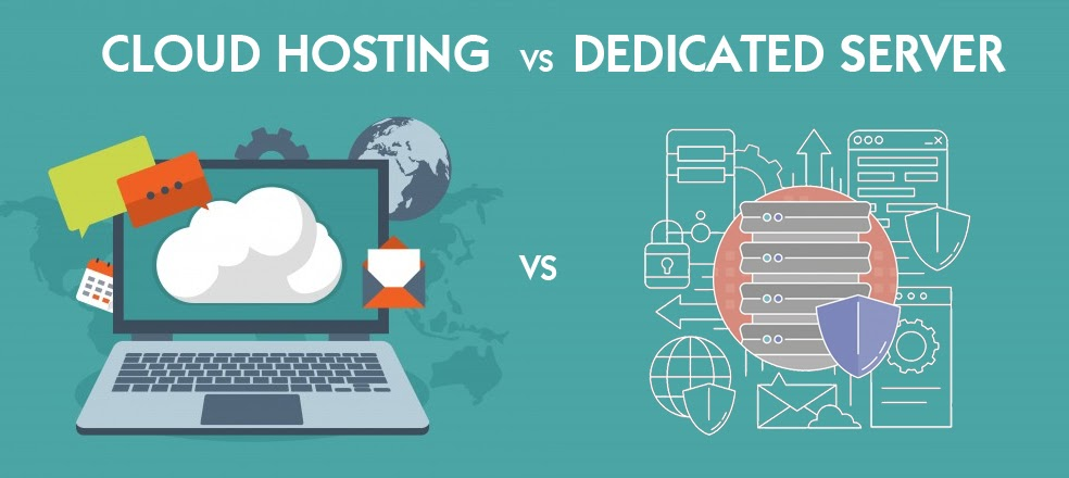Dedicated hosting and Cloud hosting